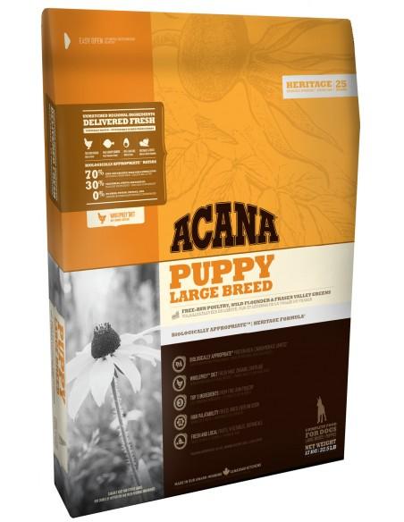 Acana Puppy Large 17 Kg. Pinso Gossos Cadells i Joves Races Grans i Gegants Dieta Normal Pollastre 064992501174