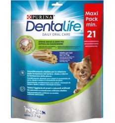 Purina Dentalife Adult Extra Mini Pollo 21 Unidades (207 gr). Sticks Perros Adultos Razas Mini Dieta Normal Pollo