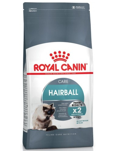 Royal Canin Care Cat Adult Hairball. 400 gr 3182550721394 / 2 Kg 3182550721400
