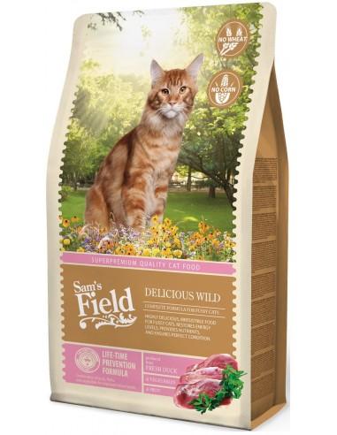 Sam's Field Adult Delicious Wild Ànec i Arròs 2,5 Kg. 8595602511969