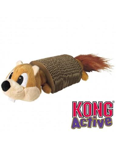 Kong Cat Active Scratcher With Toy. Joguina amb racador per a gats. 035585351155
