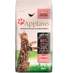 Applaws Adult Cat Adult Chicken and Salmon 2 Kg. 5060122491433