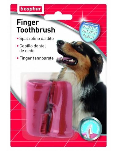 Beaphar Dog Raspall Dental de Dit (2 Unitats). 8711231104482