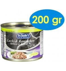 Dr. Clauder's Cat Salmó i Conill 200 gr. 4014355246521