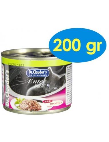 Dr. Clauder's Cat Prebiòtics Ànec 200 gr. 4014355246125