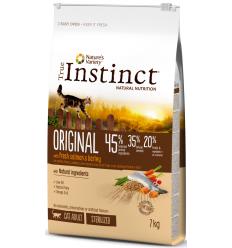 True Instinct Original Cat Sterilized Adult 7 kg Pinso Gats Adults Totes les Races Holístic Esterilitzats Salmó 3700260222682