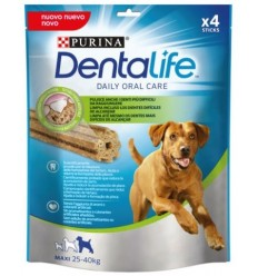 Purina Adult Pollo Large Dentalife 4 unidades (142 gr). 7613035378636