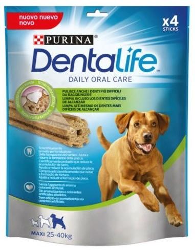 Purina Adult Pollastre Large Dentalife 4 unitats (142 gr). 7613035378636