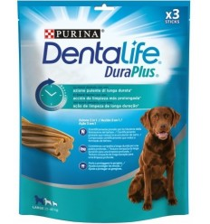 Purina Dentalife Dog Duraplus Adult Large. 3 unidades 7613036707541