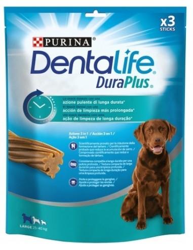 Purina Dentalife Dog Duraplus Adult Large. 3 unitats 7613036707541