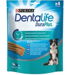 Purina Dentalife Dog Duraplus Adult Medium Pollo. 4 unidades 7613036721486