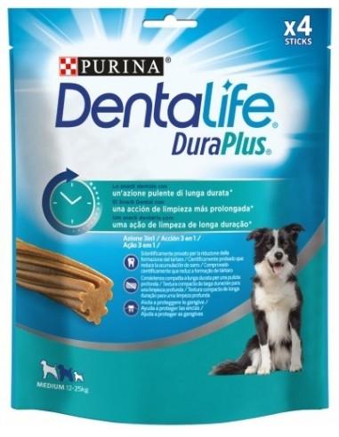 Purina Dentalife Dog Duraplus Adult Medium Pollo. 4 unidades 7613036721486