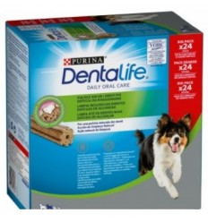 Purina Dentalife Dog Adult Medium Pollo. 24 unidades 7613038129600