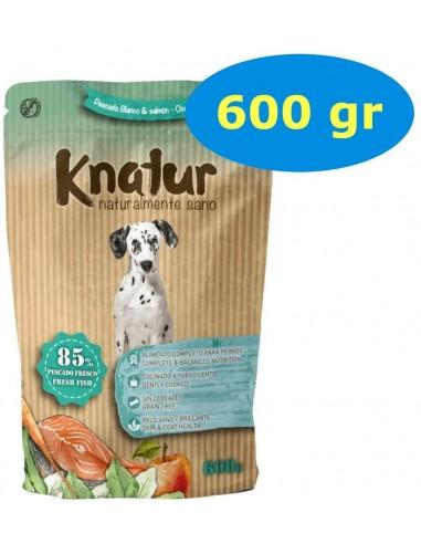 Knatur Peix Blanc, Salmó i Verdures 600 gr. 8437003634703