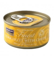 Fish4Cats Finest Atún con Queso. 70 gr 5060084829596