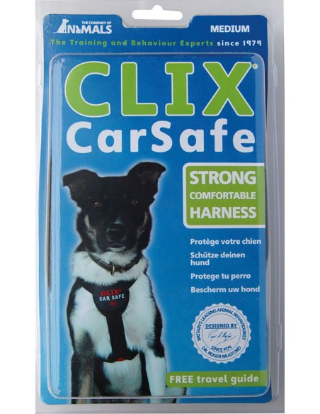 The Company of Animals Clix Carsafe Harness. 886284201209 / 886284202206 / 886284203203