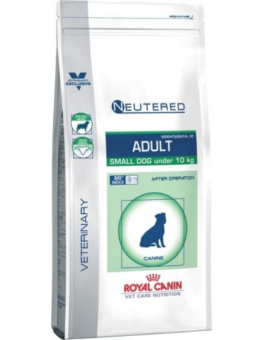 Royal Canin Vet Care Dog Neutered Adult Small Weight&Dental 30 8 kg 3182550761970