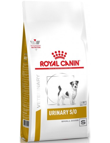 Royal Canin Veterinary Diet Dog Adult Urinary S/O Small Dog 1,5 kg 3182550780940