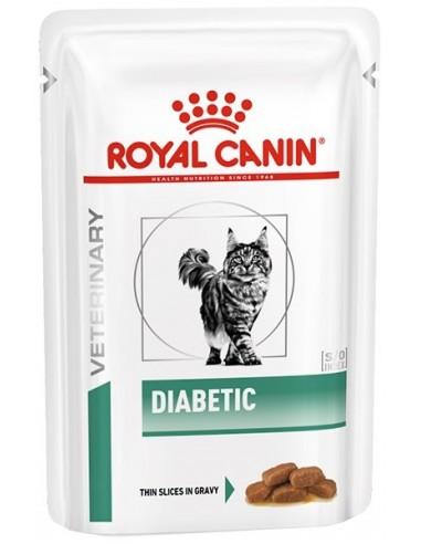 Royal Canin Veterinary Diet Cat Adult Diabetic Gravy 85 gr 9003579011980