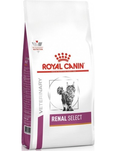 Royal Canin Veterinary Diet Cat Adult Renal Select 400 gr 3182550917360 / 4 kg 3182550842211