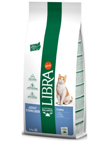 Libra Cat Adult Sterilized Tonyina 15 kg 8410650262314