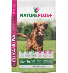 Eukanuba Nature Plus Dog Puppy 10 kg. Pinso Gossos Cadells i Joves Totes les Races Dieta Normal Xai Arròs 8710255140674
