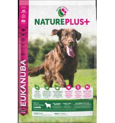 Eukanuba Nature Plus Dog Adult Large 10 kg. Pinso Gossos Adults Races Grans i Gegants Dieta Normal Xai Arròs EAN 8710255140889